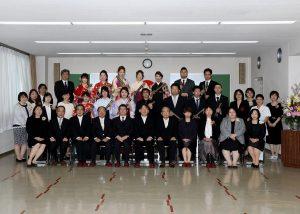 35回生卒業式